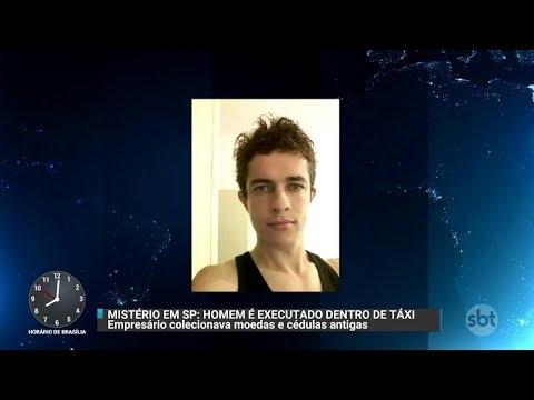 Polícia investiga assassinato de colecionador na Grande São Paulo | Primeiro Impacto (23/10/17)