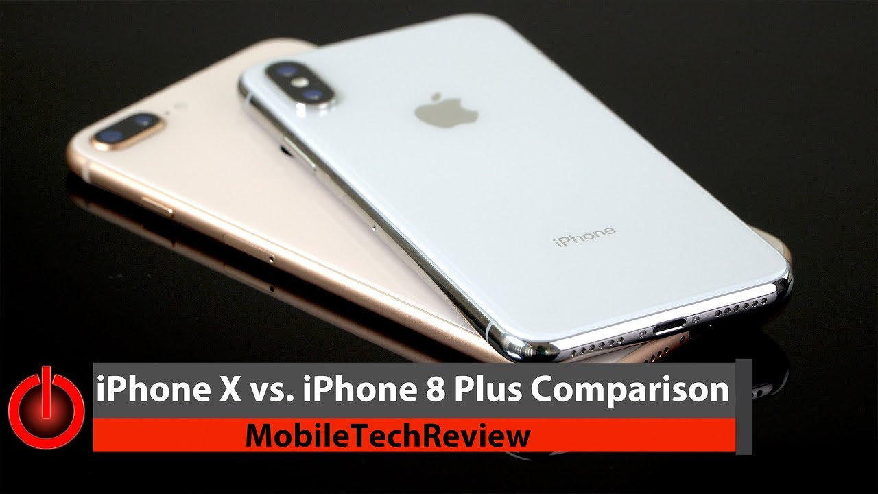 iphone x vs iphone 8 plus comparison smackdown youtube. Black Bedroom Furniture Sets. Home Design Ideas