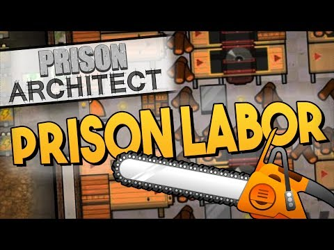 Prison Architect - PRISON LABOR ★ Dormitories, Workshop, Cleaning closet, Laundry, Regime, Cells -#5