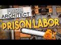 Prison Architect - PRISON LABOR ★ Dormitories, Workshop, Cleaning closet, Laundry, Regime, Cells -#5