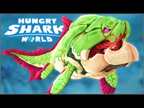 BIG MOMMA DUNKLEOSTEUS - Hungry Shark World - NEW Biggest Shark In Hungry Shark World!