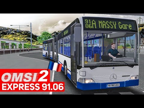 OMSI 2 Add-on Express 91.06 #1: Unterwegs in Frankreich mit dem Citaro GÜ! | Bus-Simulator