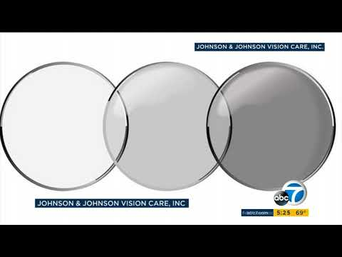 FDA approves light-adaptive contact lenses that act as sunglasses I ABC7