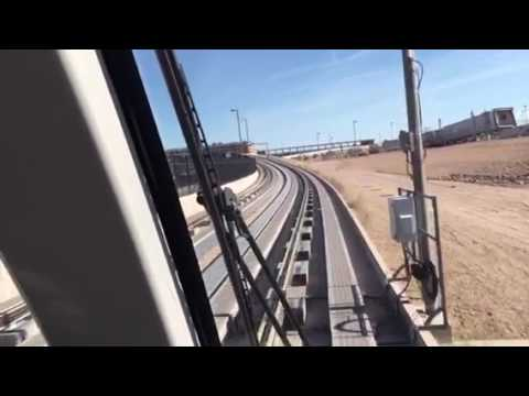 Riding Phoenix Sky Harbor Airport AirTrain