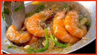 Street Foods Compilation - Casseroled Shrimp King Prawns with Glass Noodle, Strawberry Crepe CoCo