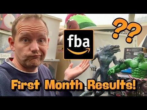 My First Month Selling On Amazon FBA - But Is There Any Profit??