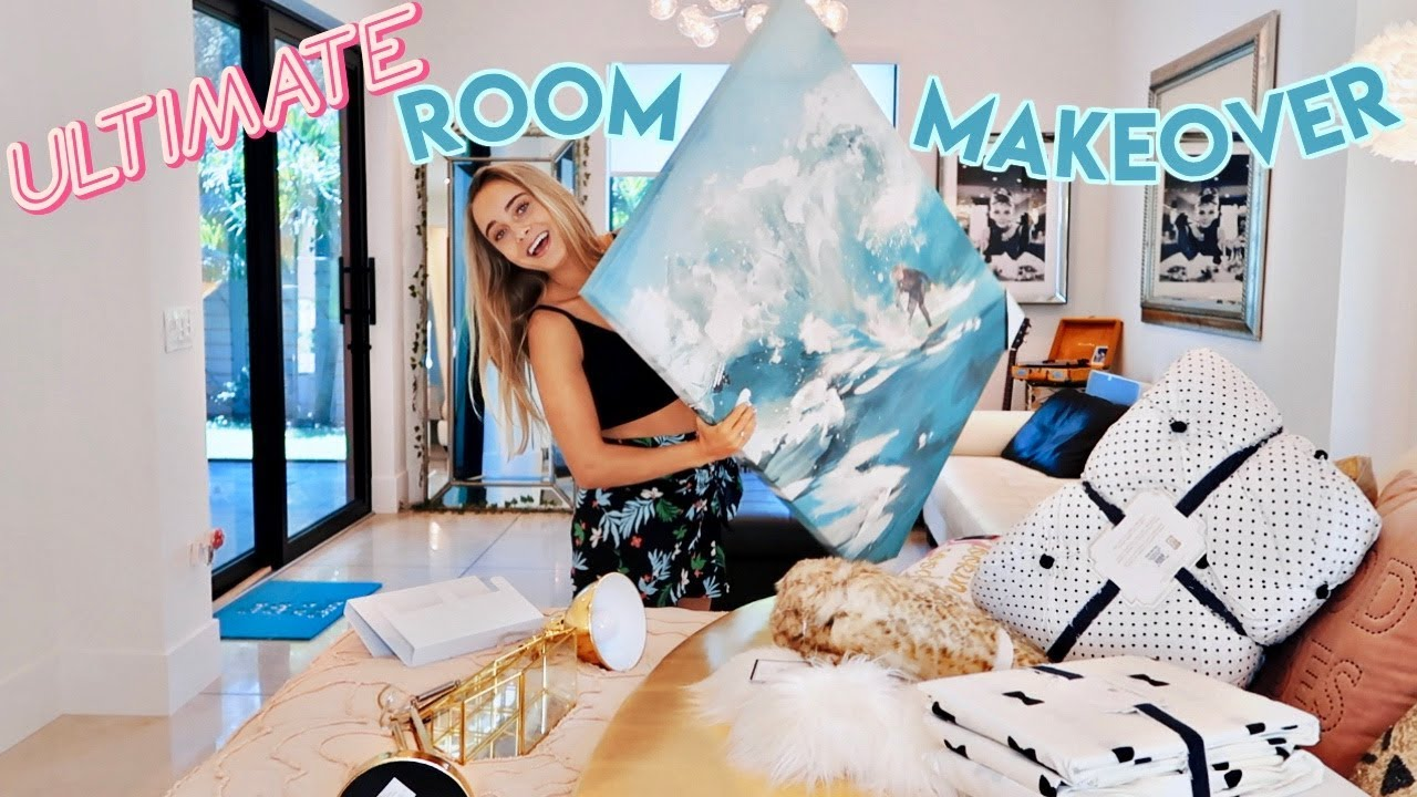 The Ultimate Bedroom Makeover Youtube