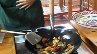 Тайский повар. Или как правильно приготовить курицу с орехами кешью по-тайски!