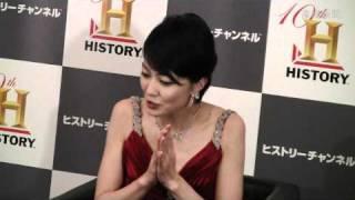 女優の板谷由夏さん(35)が「ヒストリーチャンネル」の番組「ヒストリ...