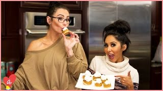 Snooki and JWOWW Thanksgiving Hacks! | #MomsWithAttitude Moment