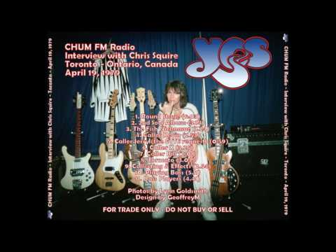 Chris Squire of Yes Interview 4-19-1979 CHUM FM
