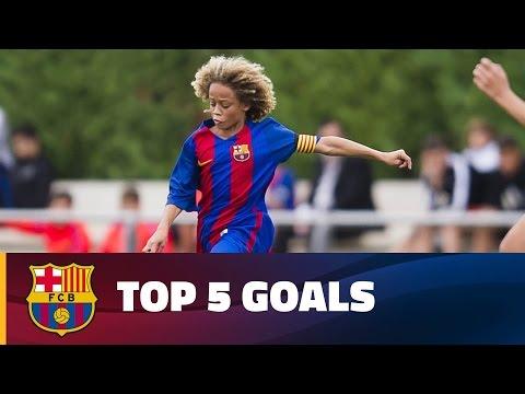 FCB Masia-Academy: Top goals 4-5 March