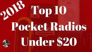 Top 10 Pocket Radios Under $20   2018 Edition