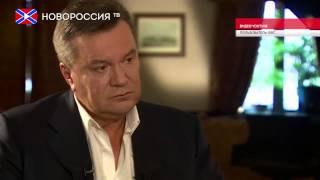 Янукович впервые дал интервью западным СМИ(Материал, вышедший в эфир поздно вечером 22 июня в рамках шоу BBC Newsnight, стал первым интервью, которое Виктор..., 2015-06-23T16:45:26.000Z)