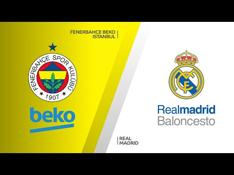 Fenerbahce Beko Istanbul - Real Madrid Highlights |Turkish Airlines EuroLeague, RS Round 34