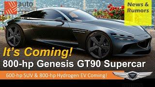 800-hp Genesis GT90 Hydrogen B…