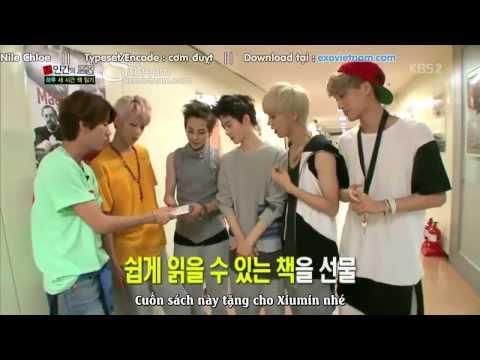 [Vietsub]05.10.13 EXO Xiumin, Luhan, Suho, Kai, Sehun - Book Talk - HD [EXOVIETNAM.COM]