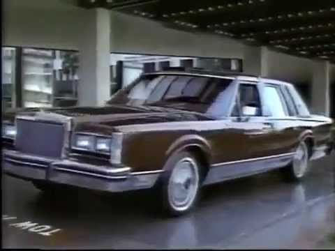 1984 lincoln town car commercial youtube. Black Bedroom Furniture Sets. Home Design Ideas