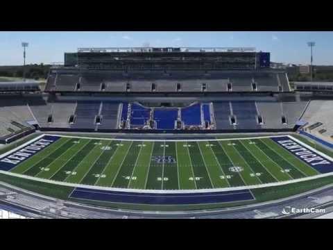 University of Kentucky Commonwealth Stadium Time-Lapse