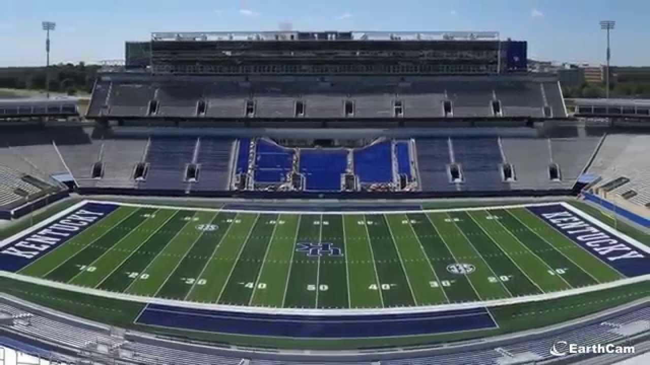University of Kentucky Commonwealth Stadium Time-Lapse ...