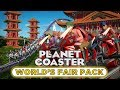 Worlds Fair Pack DLC  Review  PlanetCoaster