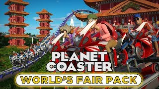 Worlds Fair Pack DLC! Review #PlanetCoaster