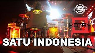 GILANG_NR DRUMCAM | SATU INDONESIA - KOTAK (KONSER)