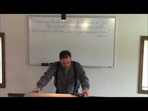Bro. Jeff Wallace - The Loving of THE LIE