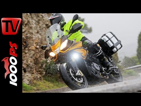 2015 | Aprilia Caponord 1200 Rally Test | Action, Sound, Fazit