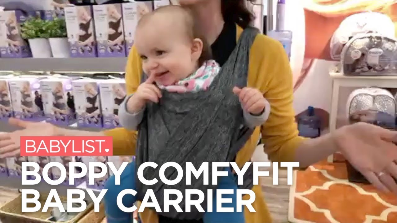 Boppy Comfyfit Baby Carrier Review