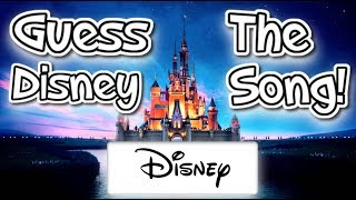 10 Great Disney Songs - CAN YOU GUESS THEM?