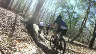 CCORS Series Race 2 The Bicycle Post Trails 4th place 02 19 2017