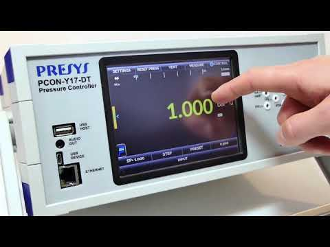 Controlador e Calibrador de Pressão PCON-Y17 - Presys