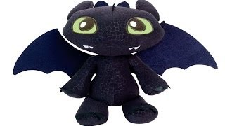 TOOTHLESS DRAGON Squeeze and Growl Plush - How To Train Your Dragon