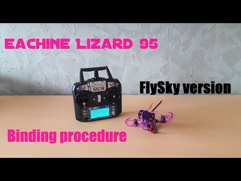 How to bind Eachine Lizard95 - FlySky Version [EN-FR]