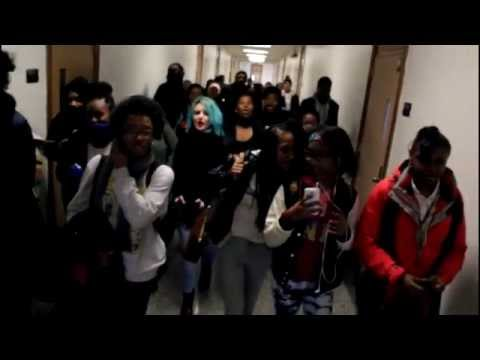J9 CITY BLOC | Baltimore City College High School Walk Out | #BCCWALKOUT