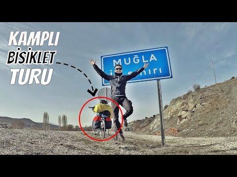 ANTALYA'DAN MARMARİS'E KAMPLI BİSİKLET TURU   Bölüm-1   BATI TOROSLAR