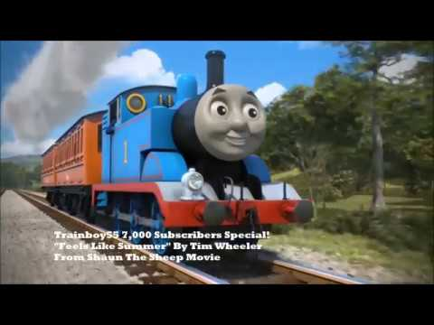 Trainboy55's 7,000 Subscribers Special!!! Feels Like Summer! MV