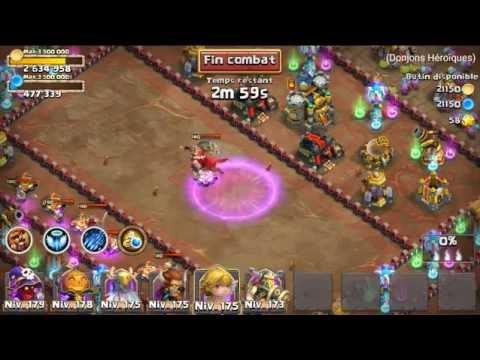 Farm Expert Dungeon 7-10 Castle Clash