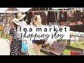 Flea Market Shopping Vlog - Flea Style