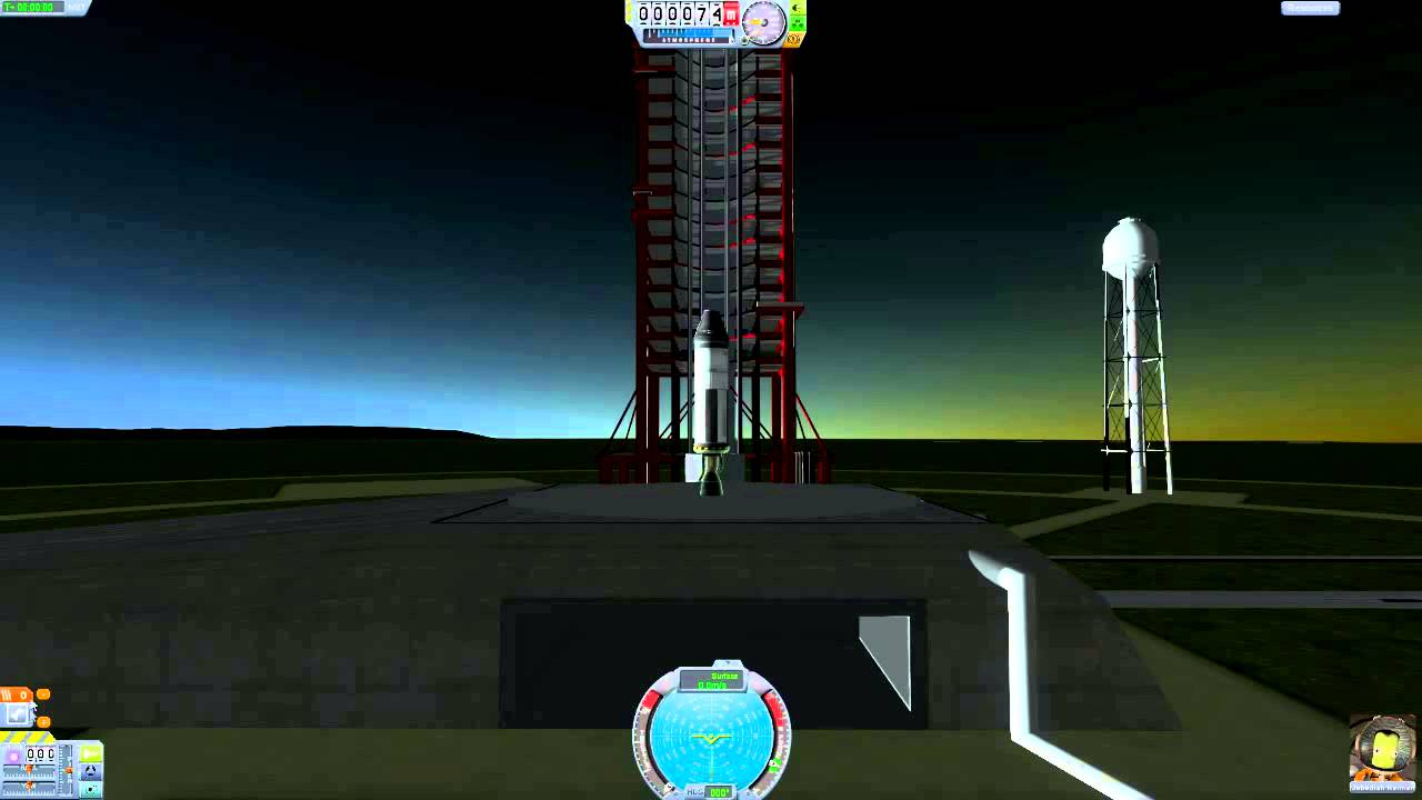 simple rocket kerbal space program - photo #8