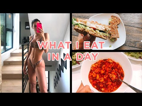 WHAT I EAT IN A DAY! (To Stay Fit Lean and Healthy)