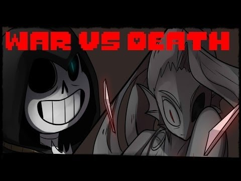 Undertale AU (Reaper Tale)???? ?? vs ?? - War Vs Death