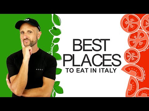 Learn Italian Culture: Eating on your Travels to Italy and Where to do it