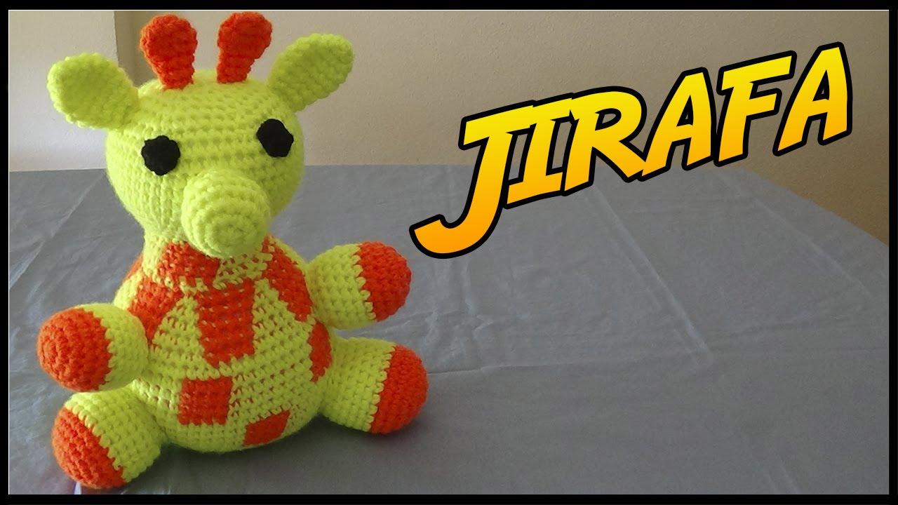 Jirafa a crochet - YouTube
