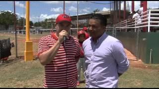 Juego de Béisbol Clase A de La Plata y Susua en el Parque Juan