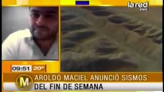 Aroldo Maciel anuncia posibles sismos pa...
