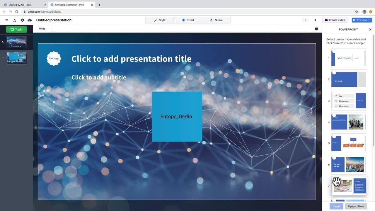Converting Powerpoint Slides Into A Prezi Presentation Prezi Support Center