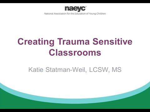 Webinar: Creating Trauma Sensitive Classrooms