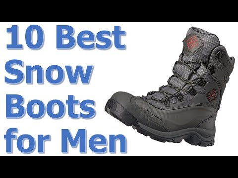 Best Snow Boots for Men || Best Mens Snow Boots 2017-2018